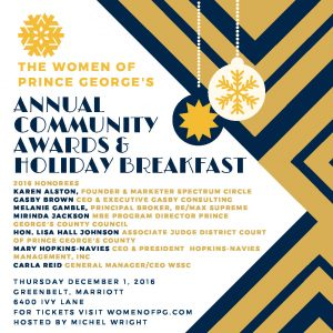 Annual Community Awards Breakfast