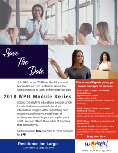 WPG Educational Module Series