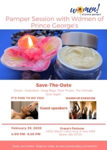 Pamper Yourself with WPG flyer